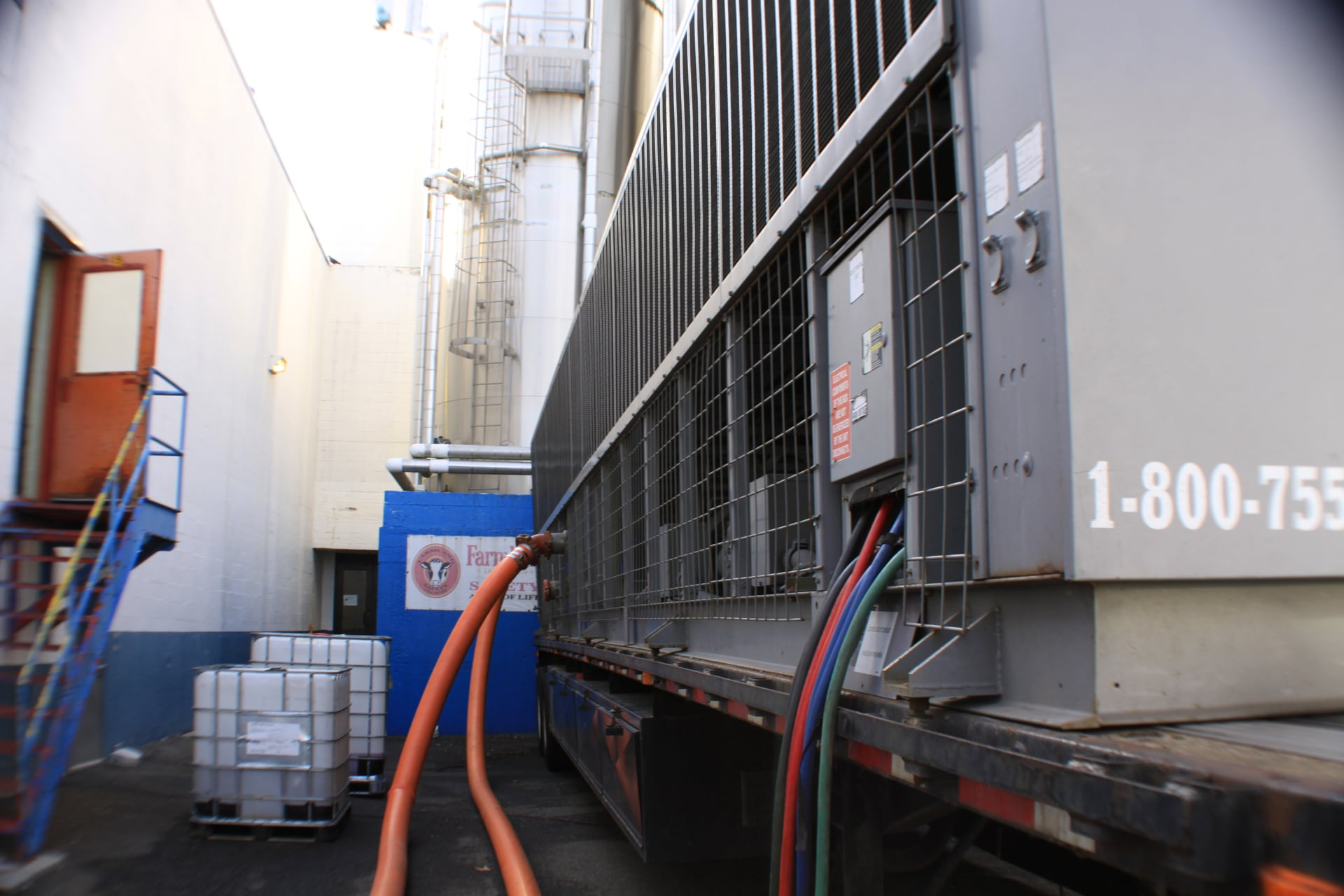 Temporary Chiller Brunswick ME, Air Cooled Chiller Rental Brunswick ME