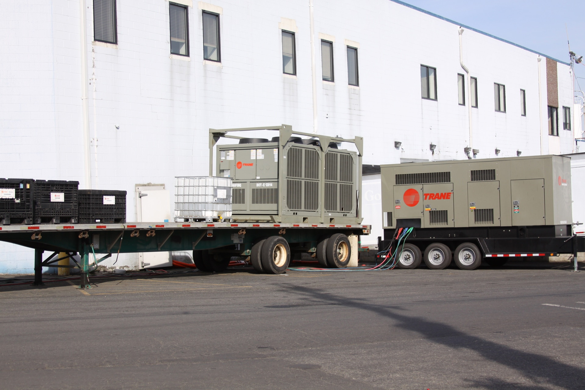 Rental Chiller Installation MD , Air Cooled Chiller Rental NYC , Temporary Chiller NY , Temporary Chiller DE ,