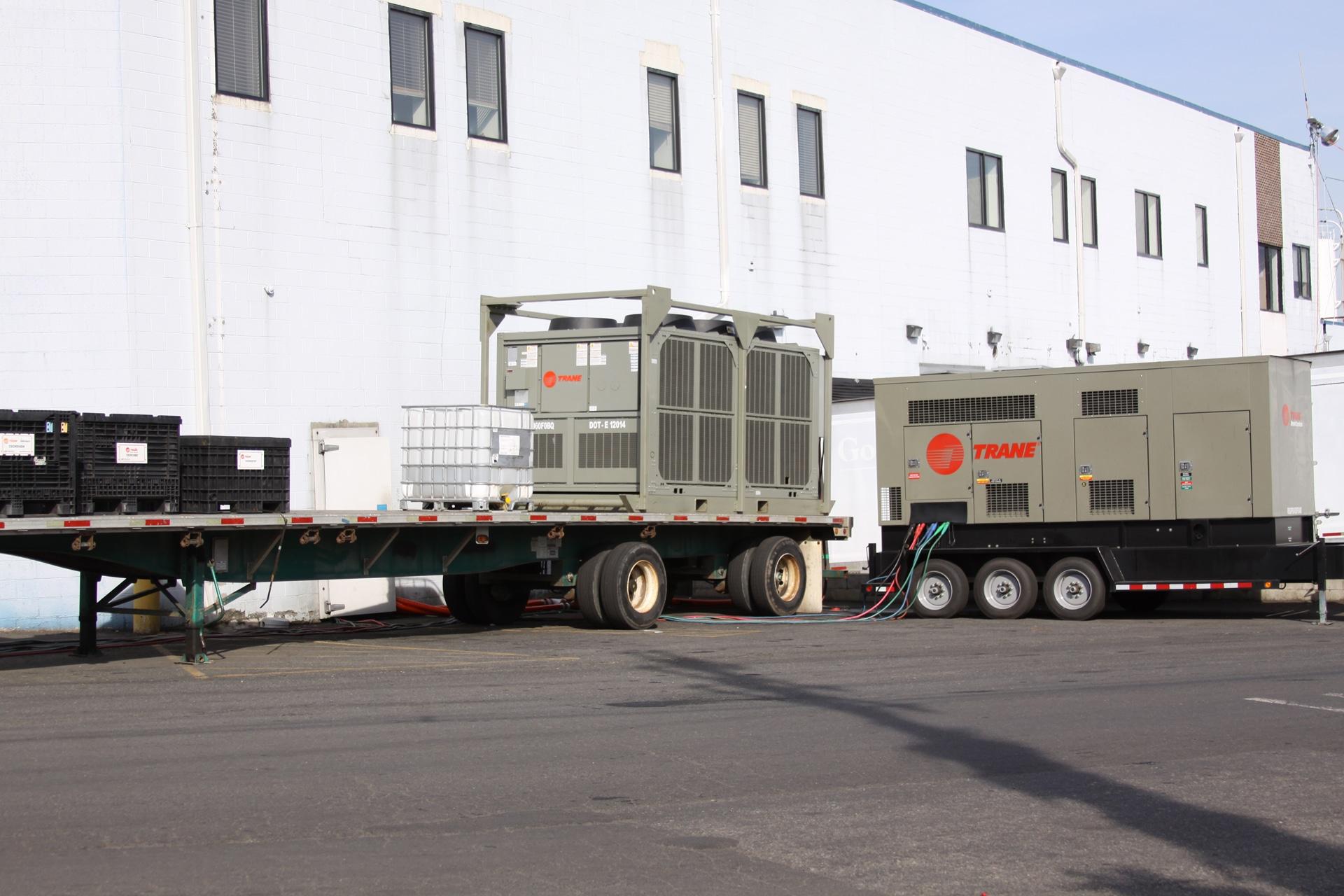 Rental Chiller Installation MD , Air Cooled Chiller Rental NYC , Temporary Chiller NY , Temporary Chiller DE ,