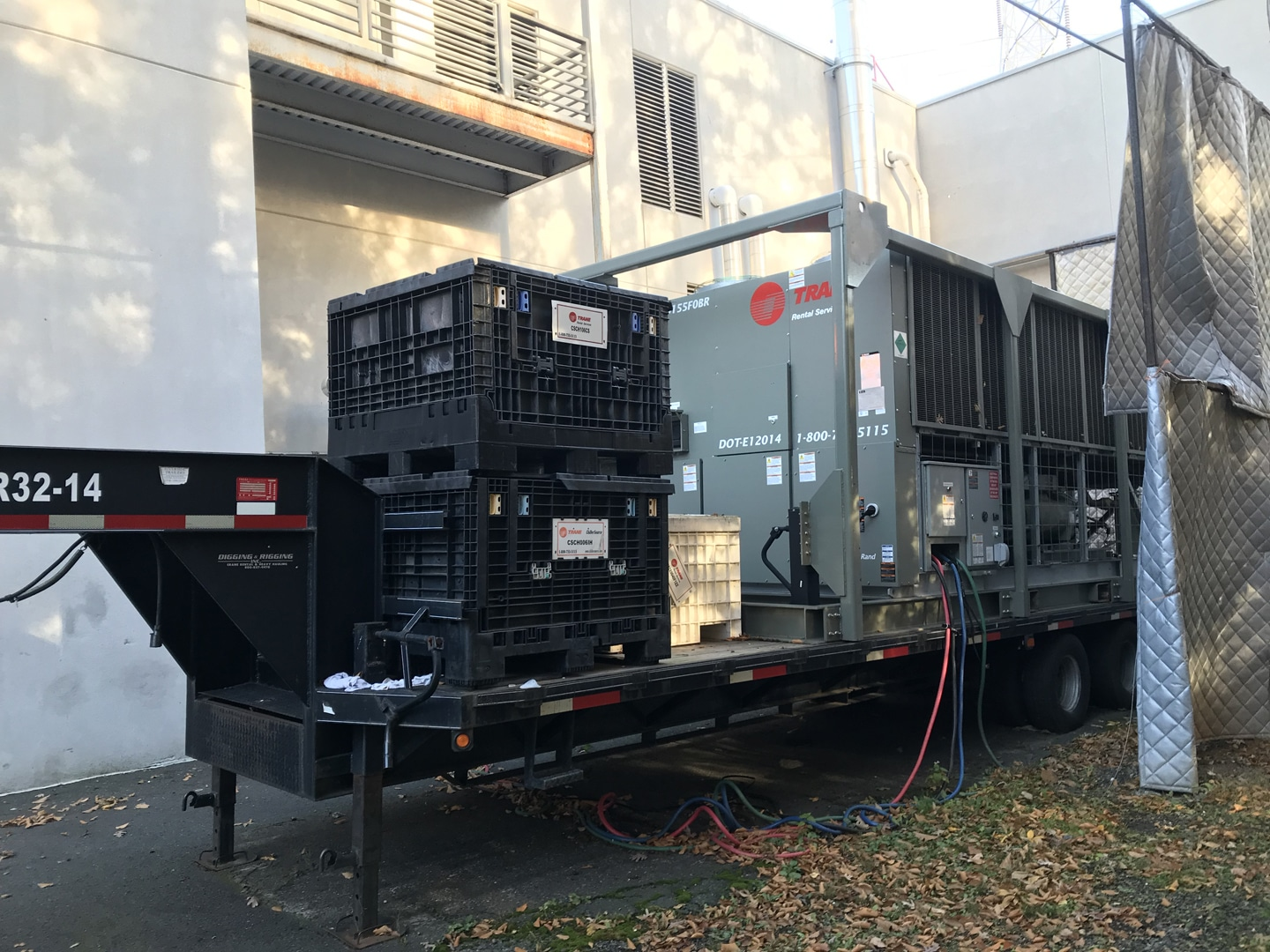 Rental Chiller Installation MD , Rental Chiller Installation NJ ,  Air Cooled Chiller Rental NYC , Chiller AC Rental Philly