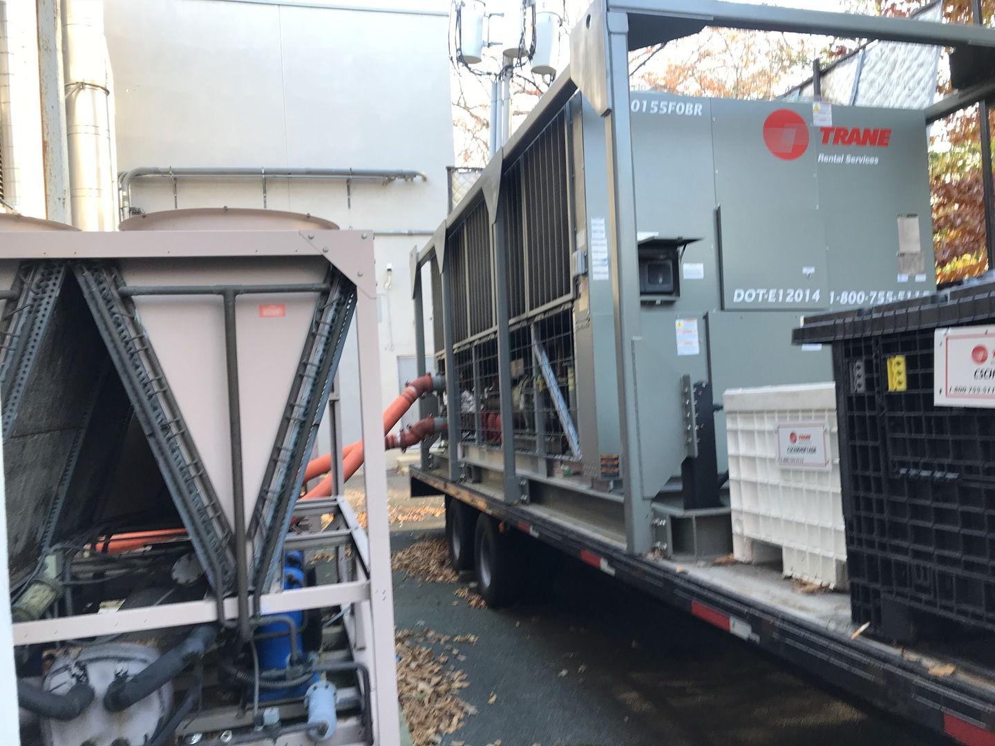 Chiller Rental NYC , Air Cooled Chiller Rental NY , Air Cooled Chiller Rental CT , Chiller AC Rental NJ
