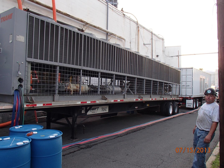 Air Cooled Chiller Rental Wash DC , Air Cooled Chiller Rental Baltimore , Chiller AC Rental MD , Temporary Chiller DE
